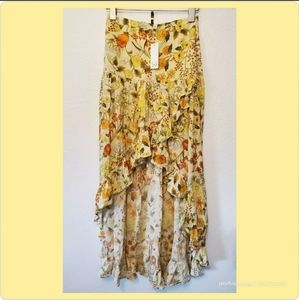NWT Spell And The Gypsy Collective Sunflower Skirt